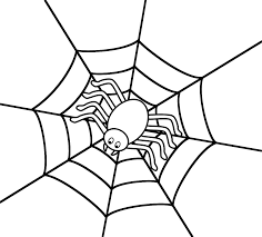 Small Picture Halloween Coloring Pages Of Spiders Coloring Pages