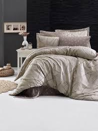 Комплект постельного белья DO&CO <b>ROVENA БЕЖЕВЫЙ</b> сатин ...