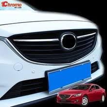 Popular Chrome <b>Front</b> Grille Grill Cover Trim Mazda 2-Buy Cheap ...