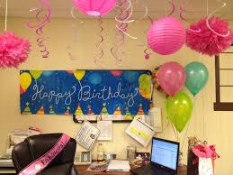Birthday Party Fun In The Office