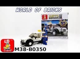 Хороший аналог Лего. Обзор <b>конструктора Sluban</b> M38-B0350 ...