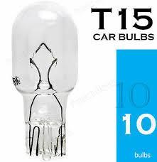 <b>10x T15</b> W16W <b>921</b> 955 Reversing Tail Break Stop Light Capless ...