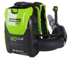 Садовая <b>воздуходувка</b> ранцевая <b>Greenworks GD60BPB</b> купить в ...