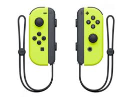 <b>Контроллер Nintendo Joy-Con Neon</b> Purple-Neon Orange - Мрамор