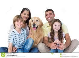 Resultado de imagen de familia con golden retriever