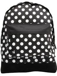 <b>Рюкзак Mi</b>-<b>Pac</b> Polkadot All <b>Polka</b> 17л, Black/White, <b>Mi</b>-<b>Pac</b> ...
