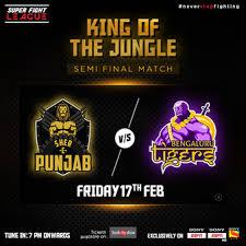 SFL <b>2017</b> Semis: <b>King</b> Of The <b>Jungle</b>: Sher-E-Punjab Vs Bengaluru ...