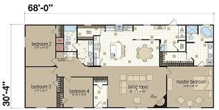x double wide homes floor plans   Modern Modular Home    floor plans for double wide homes