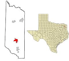 daingerfield texas location in morris county and the state of texas