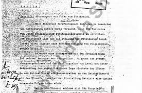 ii telex message on the deportation of french jews ehri online ii09 telex message on the deportation of french jews ehri online course in holocaust studies