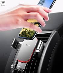 <b>Baseus Metal</b> Age <b>Gravity Car</b> Mount Aluminum Alloy <b>Car</b> Phone ...