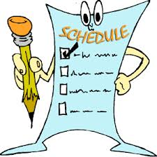 Science Fair Project Schedule