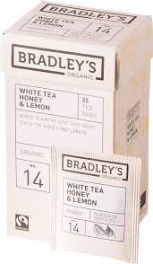 """<b>Чай</b> белый в пакетиках Bradley's <b>Organic</b> FT """"Мед и <b>лимон</b>"""", <b>25</b> шт ..."""