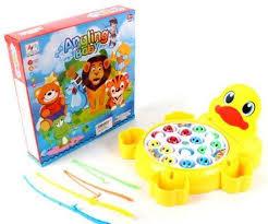 Интерактивная <b>игрушка Наша Игрушка</b> Рыбалка эл. <b>Утенок</b> от 3 ...