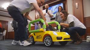 Students modify <b>toy cars</b> to give <b>children</b> with mobility issues a taste ...