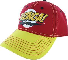 big bang theory bazinga red yellow hat 4.jpg Big Bang Theory Bazinga Red Yellow Hat.