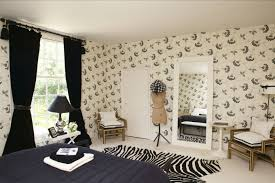 Living Room Borders 9 Ways To Use Wallpaper In A Living Room