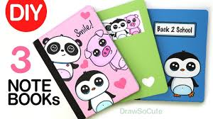DIY <b>Notebook</b> Cover Designs for Back to School | Super EASY ...