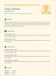 resume templates simple maker acting format doc regarding 85 surprising simple resume templates
