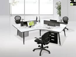 wholesale stylish modular workstation 3 people office desk buy modular workstation furniture