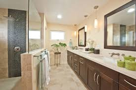 transitional bathroom with double vanity decor ideas from hawaii bathroom pendant lighting double vanity