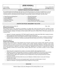 project manager resume construction sample   cover letter builderproject manager resume construction sample construction project manager resume sample pick for construction assistant project manager