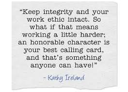 Quotes Work Integrity | Quotes