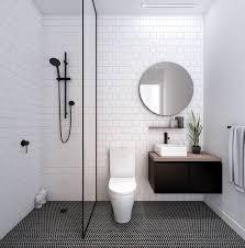 Sleek <b>Round black</b> shower set. Quality solid brass shower rail. 1.5m ...