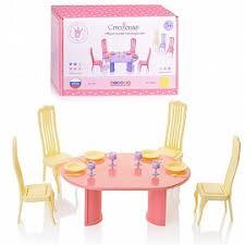 Мебель для <b>кукол</b> купить в Москве в интернет-магазине Юмитой