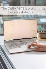 A <b>new rose gold</b> and white color scheme makes the Dell XPS 13 a ...