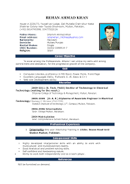 doc resume templates word resume example resume format for freshers in word format