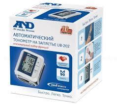 <b>Тонометр AND UB-202</b> автомат на запястье N 1 купить в Пермь ...