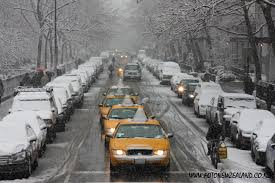 To New York in the Snow...