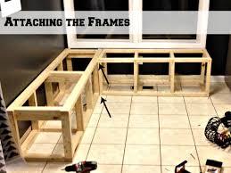 corner dining bench storage banquette furniture with storage