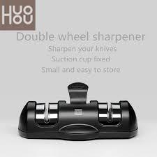 <b>Huohou Sharpen Stone Double</b> Wheel Whetstone Sharpeners K ...