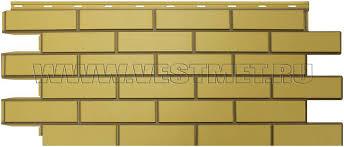 <b>Фасадная панель Nordside</b> Гладкий кирпич желтый цена, купить в ...