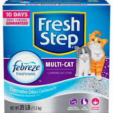 Fresh Step Febreze Freshness Multi-Cat Clumping Cat ... - Kroger