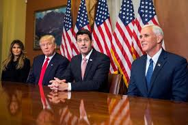 Image result for trump ryan and