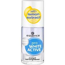 Nail polish <b>Pro White Active</b> by <b>Essence</b> | parfumdreams