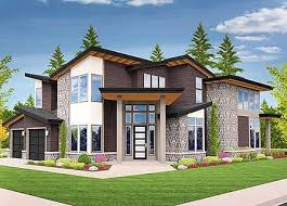 Plan MS  Angled Entry Bed Modern House Plan   Modern House    Plan MS  Angled Entry Bed Modern House Plan   Modern House Plans  Modern Houses and House plans