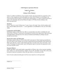 Child Support Agreement Template | Free Microsoft Word Templates Child Support Agreement Template for Word