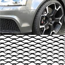"40""x13"" Black Universal <b>Aluminum Car Vehicle</b> Body Grille Net ..."