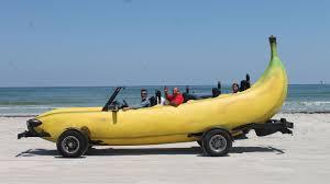 Banana Car: Inventor Turns Pick-Up Truck Into Driveable Banana ...