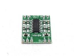 PAM8403 5V 3W 2-Channel <b>Stereo Digital Audio Amplifier</b> Module ...