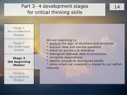 Problem Solving Using Hurson     s Production Thinking Model YouTube Report abusetranscript of stages of critical thinking developmentstages of critical thinking developmentchallenged thinker challenged thinkers are those who