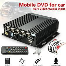 Mini <b>4CH AHD</b> DVR Car Vehicle Mobile Realtime Video/Audio ...