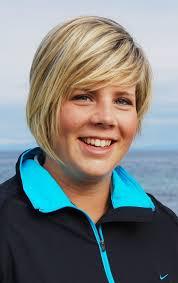 Megan Briggs (Kilmacolm), left, and her semi-final opponent, Jane Turner (Craigielaw). - JANETURNERMAY08HD1-798768