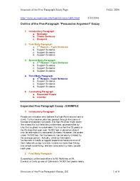 bing bang bongo five paragraph essay outline outline of the five paragraph essay