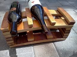 custom made napa barrel stave 6 bottle wine rack alpine wine design outdoor finish wine barrel