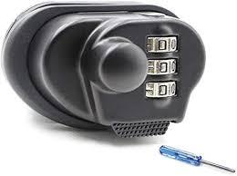 Trigger Lock 3 Digit Combination <b>Gun</b> Lock Fits <b>Pistols</b> Hand <b>Gun</b> ...